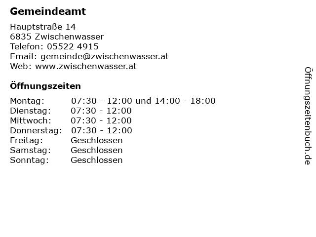 Zwischenwasser - Grne Vorarlberg - Die Grnen